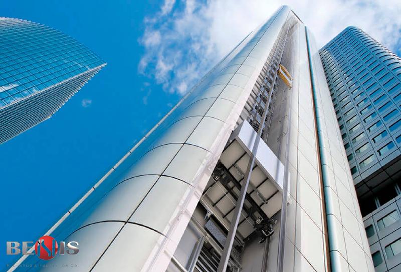 آسانسور باری برای ساختمان های بالای 20 طبقه