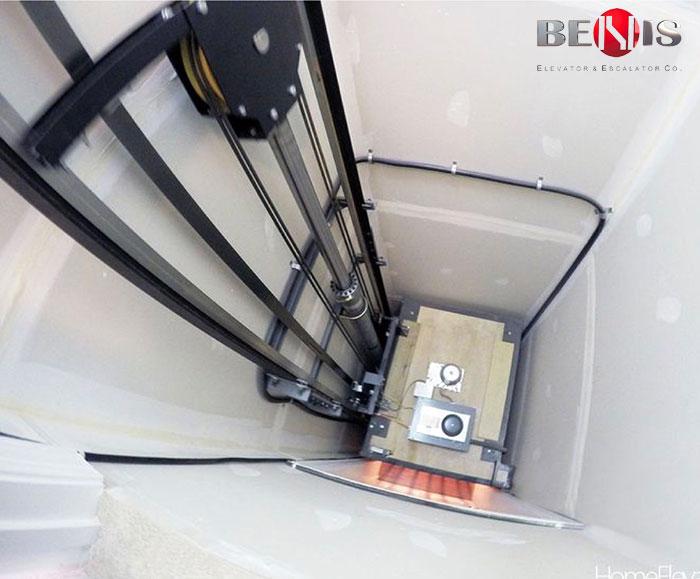 چاه آسانسورهای هیدرولیک